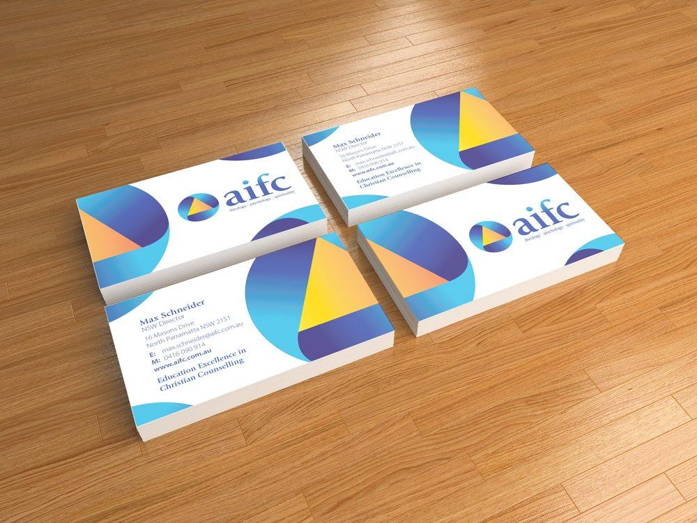 AIFC – Business Cards | Creative Minds